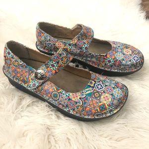 Alegria Women's shoes size 38 multicolored